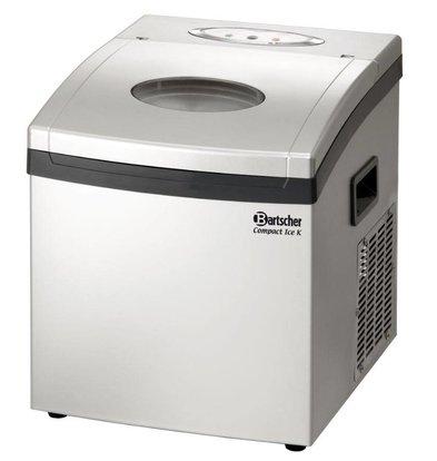 Bartscher Machine à Glaçons ''Compact Ice K'' - 10Kg/24h - 305x365x360(h)mm