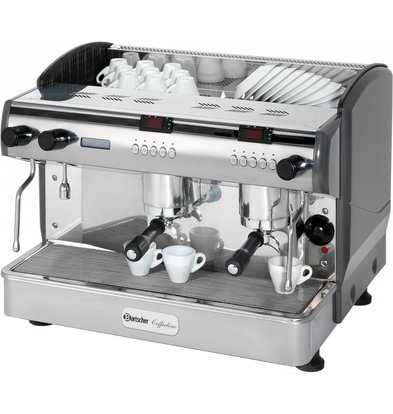 Bartscher Machine à Café 'Coffee line G2plus' - 3 Boilers - 3,3kW - 677x580x523(h)mm