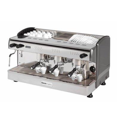 Bartscher Machine à Café 'Coffeeline G3' + Vanne Anti Vacuum - 4,3kW - 967x580x523(h)mm