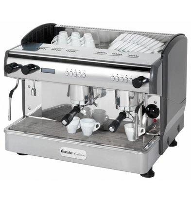 Bartscher Machine à Café 'Coffeeline G2' + Vanne Anti Vacuum - 3,3kW - 677x580x523(h)mm