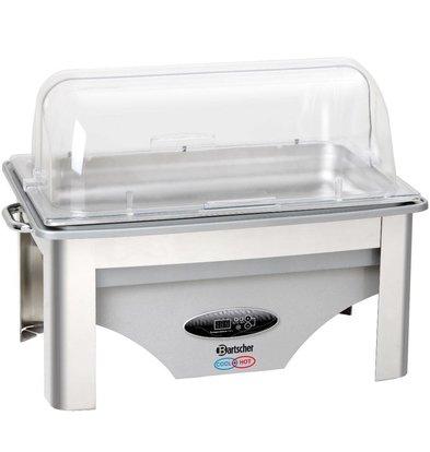 Bartscher Chafing Dish GN 1/1 Inox - Chaud et Froid - 700W - 610x360x450(h)mm