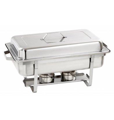 Bartscher Chafing Dish GN 1/1 Inox   EXTRA PROFOND 100mm   15 Litres!