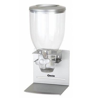 Bartscher Distributeur de Céréales | Plastique | 3,5 Litres | 180x170x396(h)mm