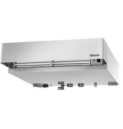 Bartscher Hotte D'Extraction Inox - Pour Four Mixte Serie V De  - 925x1000x235(h)mm