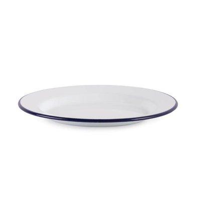CHRselect Assiette Plate Olympia   Émaillé   Ø245mm   6 Pièces