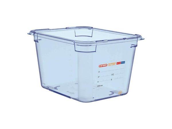 CHRselect Boîte Hermétique Bleue ABS - GN1/2 | 200mm de Profondeur