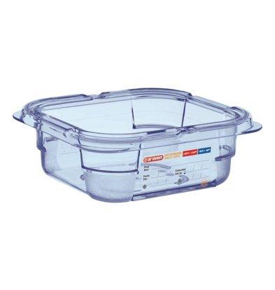 CHRselect Boîte Hermétique Bleue ABS - GN1/6   65mm de Profondeur