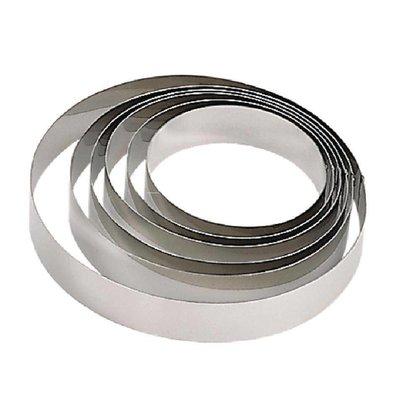 CHRselect Cercle à Mousse Inox   Ø200x45(h)mm