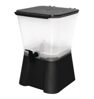 CHRselect Distributeur de Boissons Noir | 11 litres | 300x300x420(h)mm