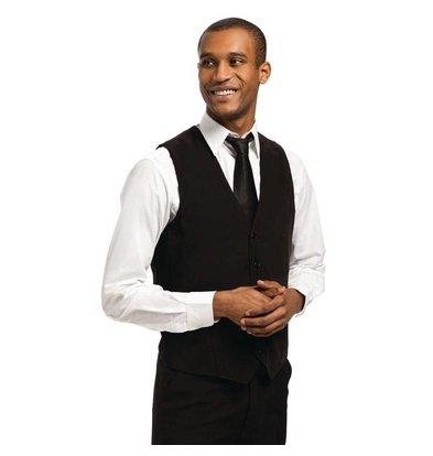 CHRselect Gilet Noir pour Homme | Staff Uniforms | Disponible en 4 Tailles
