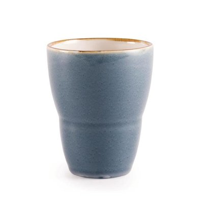 "CHRselect Gobelet ""Kiln""| Porcelaine Océan | 440ml | 6 Pièces"