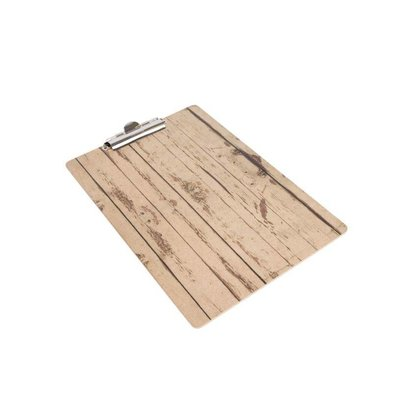 CHRselect Plaque Porte-Menu Bois A5 | 160x240(h)mm