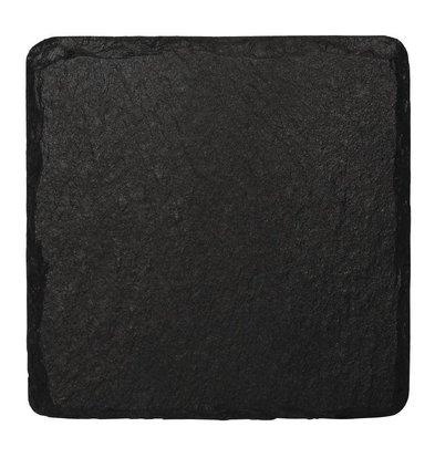 CHRselect Plat de Présentation en Ardoise   130x130mm   4 Pièces