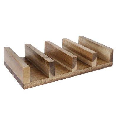 CHRselect Présentoir à Sandwiches | Acacia | 150x120x40(h)mm