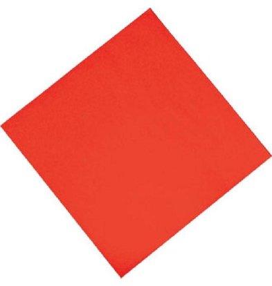 CHRselect Serviettes en Papier Rouges | 2 Plis | 330x300mm | 1500 Pièces