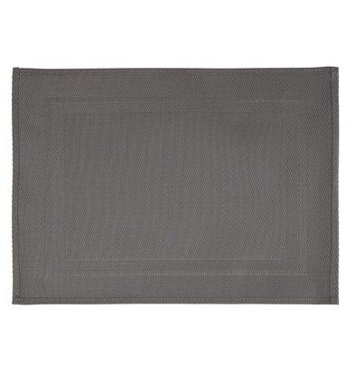 CHRselect Set de Table Gris | PVC | 450x330mm | 6 Pièces