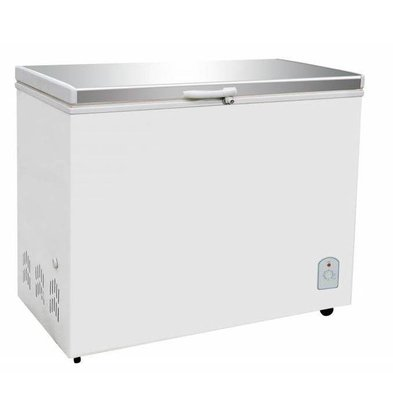 Combisteel Coffre Congelé   Couvercle Inox   260 Litres   130W   1055x575/630x845(h)mm