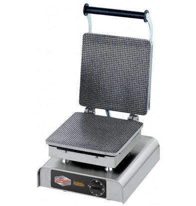 CHRselect Gaufrier pour Gaufres Fourrées/Caramel | 200W | 300x320x(h)300mm