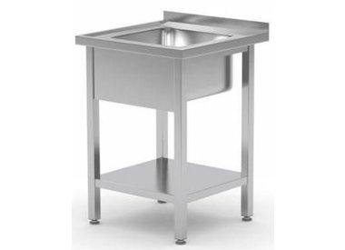 Tables de Prélavages INOX | 1 Evier