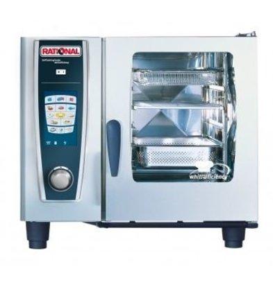 Rational Rational Four Mixte à Vapeur SCC 61G Gaz | Self Cooking Center Type 61 | 6 x 1/1GN | 30-80 Couverts