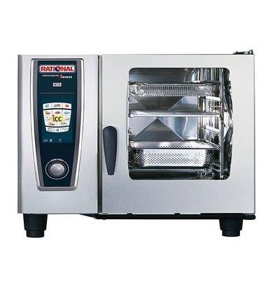 Rational Rational Four Mixte à Vapeur SCC 62G Gaz | Self Cooking Center Type 62 | 6 x 2/1 GN | 60-160 Couverts