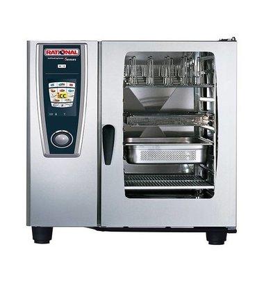 Rational Rational Four Mixte à Vapeur SCC 102G Gaz | Self Cooking Center Type 102 | 10 x 2/1 GN | 150-300 Couverts