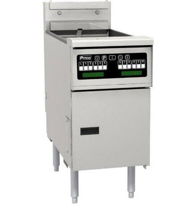 PITCO Friteuse Électrique COMPUTER | Pitco SE18 | 22kW | Huile 41Kg | 105Kg/u | 499x873x864(h)mm