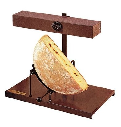 CHRselect Raclette Traditionnelle | Pour Demi Fromage | Chauffe Horizontal