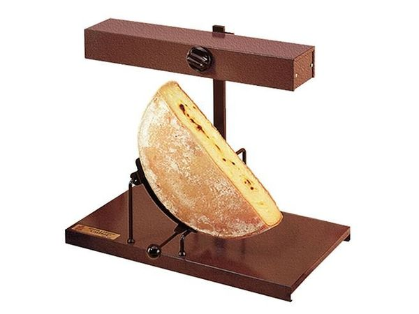 CHRselect Raclette Traditionnelle | Pour Demi Fromage | Chauffe Horizontale