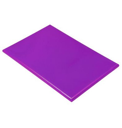 Hendi Planche à Découper HACCP Violet | 450x300x12(h)mm