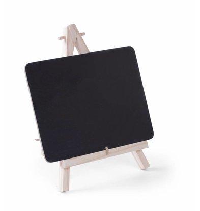 Hendi Ardoise de Table avec Support | 210x150mm | 2 Pièces