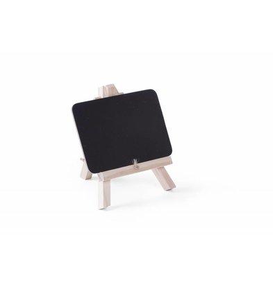 Hendi Ardoise de Table avec Support | 148x97mm | 2 Pièces