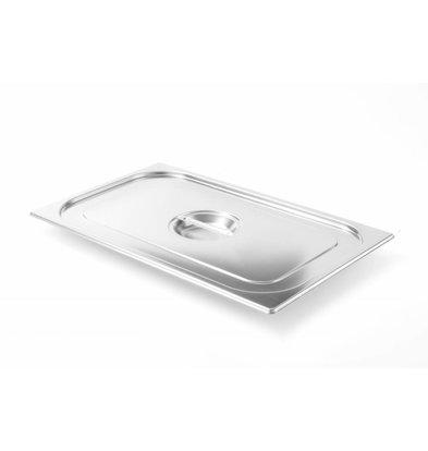 Hendi Couvercle Gastronorme 1/4 | Modèle Solide