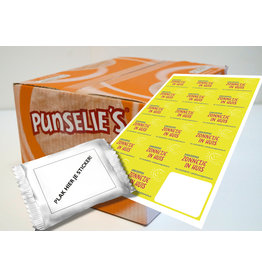 Punselie's Custom Logo Box - 300 pcs