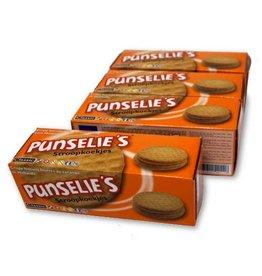 4 doosjes Punselie's 200 gram stroopkoekjes