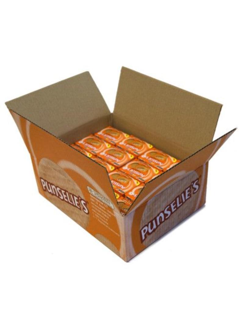 16 doosjes met 4 per stuk verpakte Punseliekoeken