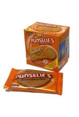 16 doosjes met 4 per stuk verpakte Punselie's stroopkoekjes