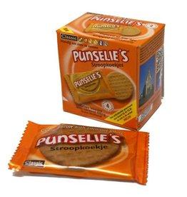 16 doosjes met 4 Punselie's Stroopkoekjes To Go
