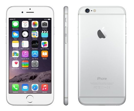 Apple Refurbished iPhone 6 Zilver 16GB