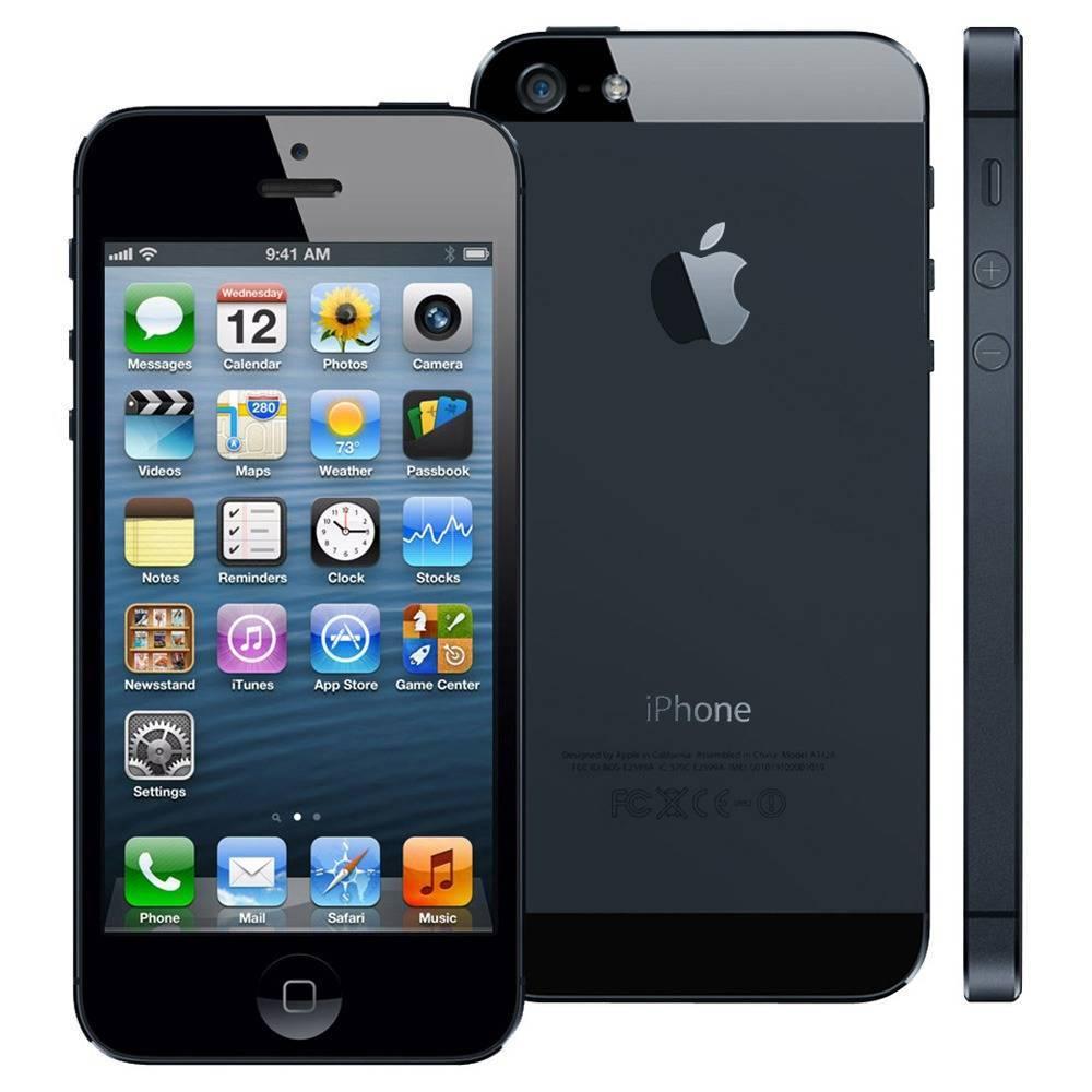 Apple Refurbished iPhone 5 Zwart 32GB
