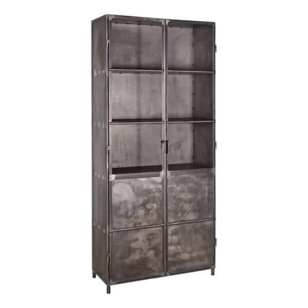 Multi Meubel IRON Cabinet  Afmeting 90 x 40 x 200 cm