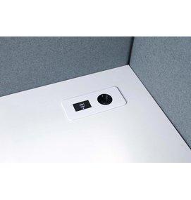 Götessons Table Top SLIM 1 x stroom + 2x USB Charge - Götessons