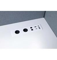 Götessons Table Top SLIM  2x stroom + 2x data + USB + VGA + HDMI + Audio