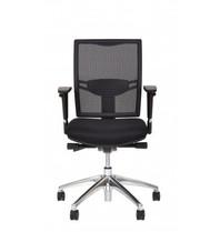 Multi Meubel Huislijn Bureaustoel MILAAN, rug in mesh zwart - Online bureaustoelen voor werkplekken