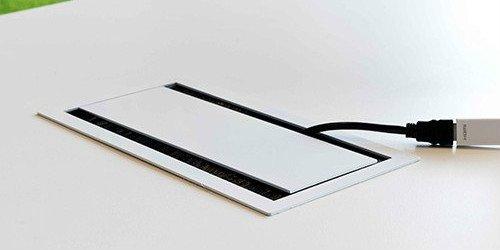BI-BOX Kabelbox small 3x STROOM + powerinlay 3P00 423025.3001500 +inlay 3P