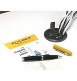 Multi Meubel DELOCK 61990 USB 3.0 Bureau hub 3-poorten, HD-audio, 60mm