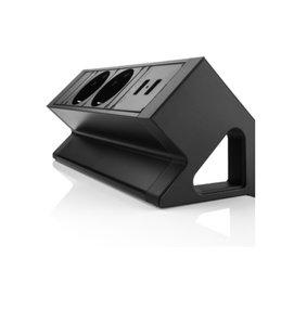 Multi Meubel Power Desk UP 2.0. 2x stroom +2xUSB Charge - Opbouw stekkerdozen