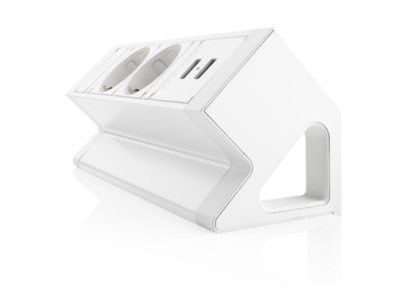 Multi Meubel Power Desk UP 2.0. 2x stroom +2xUSB Charge