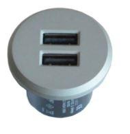 Multi Meubel Inbouwmodule 2x USB Charger+ Transformator