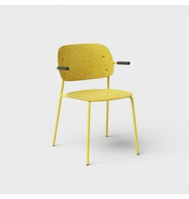 De Vorm De Vorm HALE Chair met armleggers - De Vorm